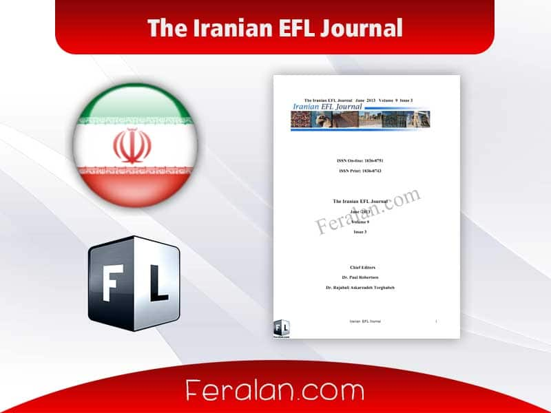 دانلود کتاب The Iranian EFL Journal