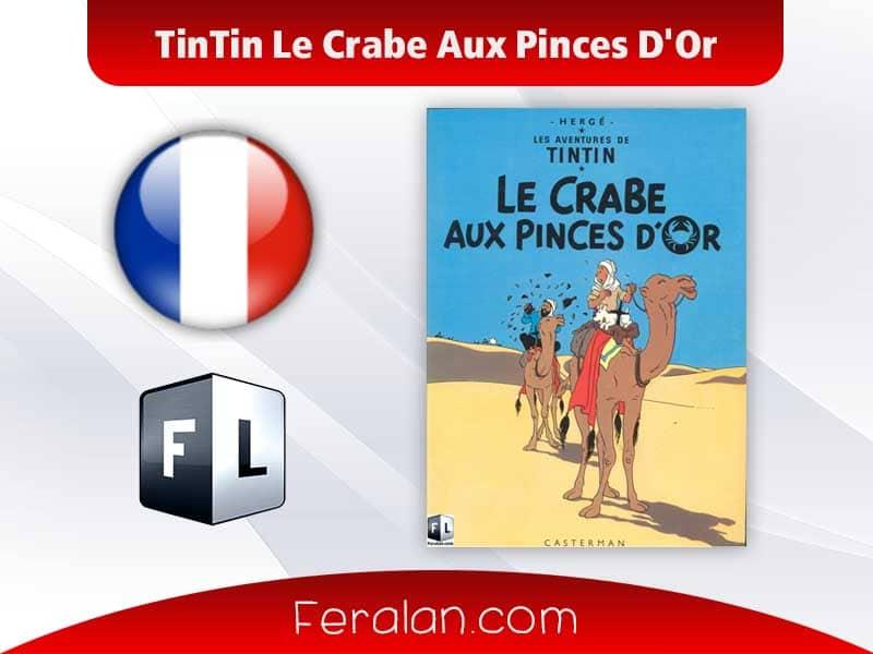 دانلود کتاب TinTin Le Crabe Aux Pinces D'Or
