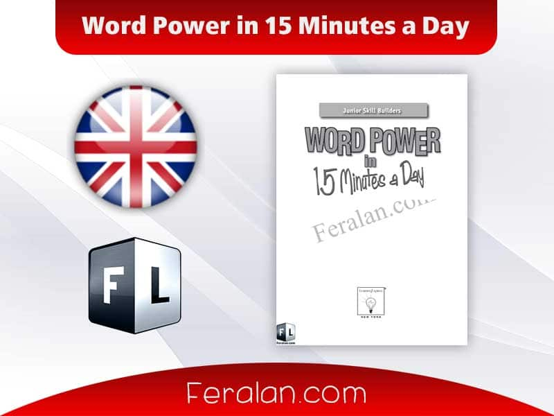 دانلود کتاب Word Power in 15 Minutes a Day